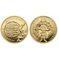 2020.évi I. Ulászló aranyforintja - aranyérme